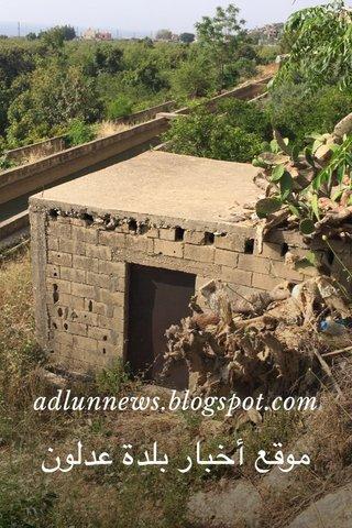 adlunnews.blogspot.com موقع أخبار بلدة عدلون