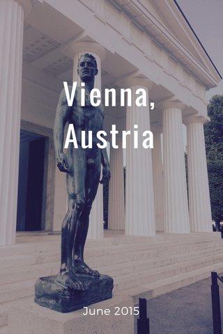 Vienna, Austria June 2015