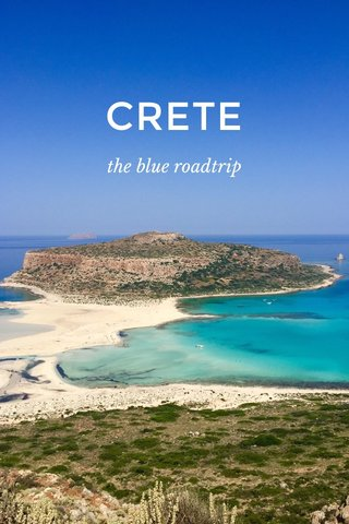 CRETE the blue roadtrip