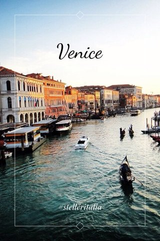 Venice #stelleritalia
