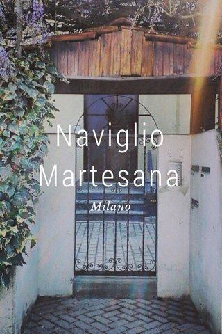 Naviglio Martesana Milano