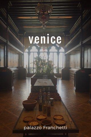 venice palazzo Franchetti