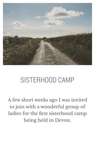 SISTERHOOD CAMP