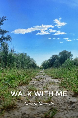 WALK WITH ME Next to Noncello