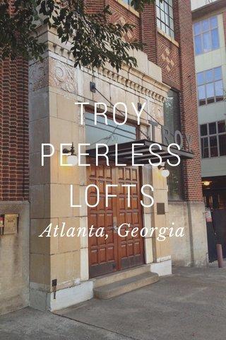 TROY PEERLESS LOFTS Atlanta, Georgia