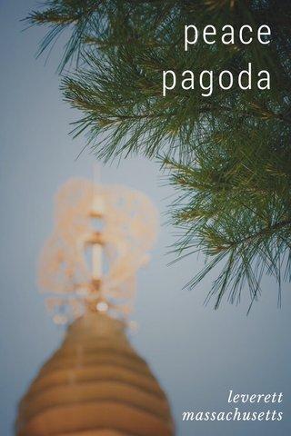 peace pagoda leverett massachusetts