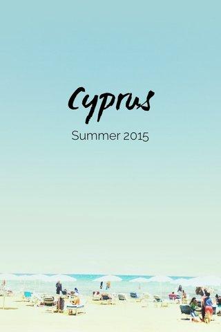 Cyprus Summer 2015