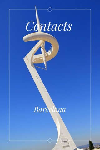 Contacts Barcelona