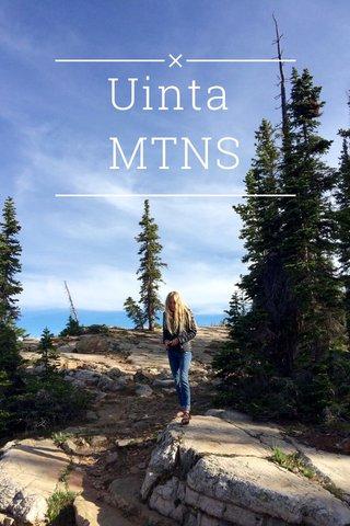 Uinta MTNS