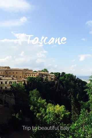 Toscane Trip to beautiful Italy