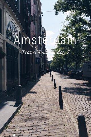 Amsterdam Travel Journal day 7
