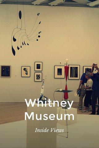 Whitney Museum Inside Views
