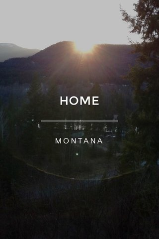 HOME MONTANA
