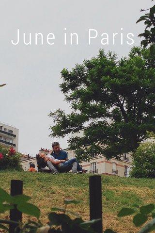 June in Paris