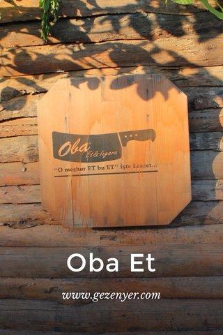 Oba Et www.gezenyer.com
