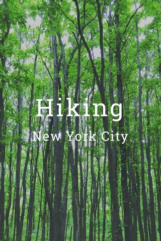 Hiking New York City