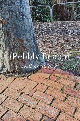 {Pebbly Beach} South Coast, NSW