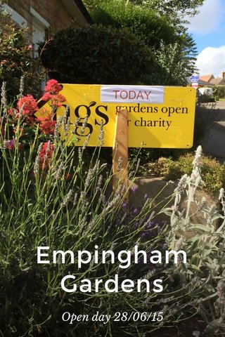 Empingham Gardens Open day 28/06/15
