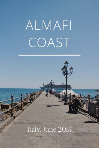 ALMAFI COAST Italy. June 2015