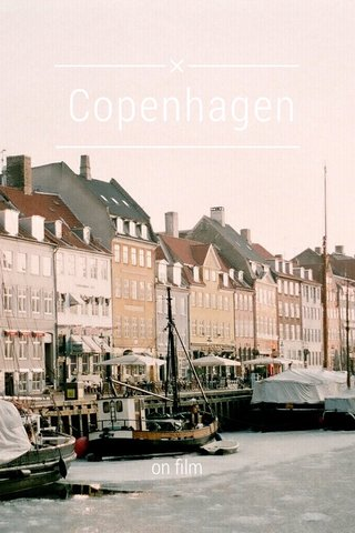 Copenhagen on film