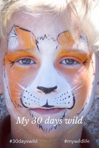 My 30 days wild #30dayswild #mywildlife