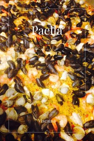 Paella Viscaina