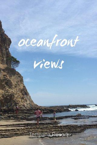 oceanfront views Terreana Resort