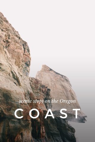 COAST scenic stops on the Oregon