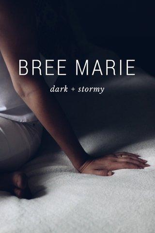 BREE MARIE dark + stormy