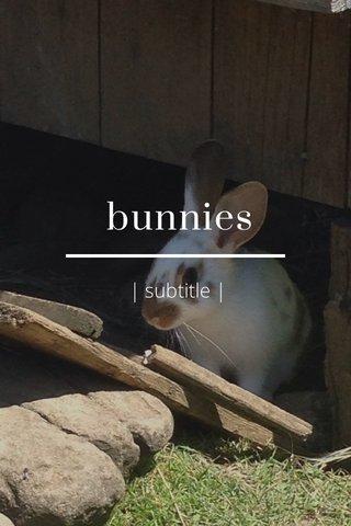 bunnies   subtitle  