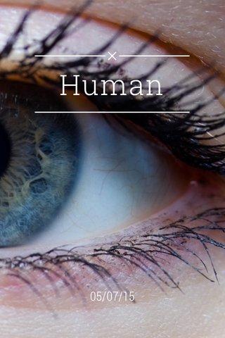 Human 05/07/15
