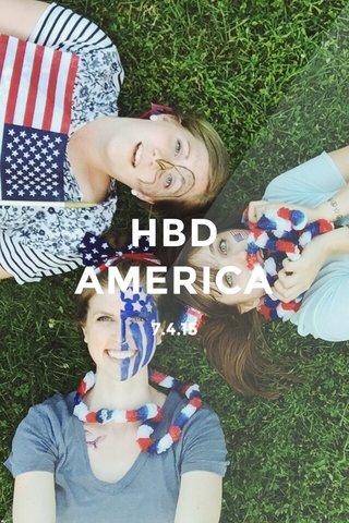 HBD AMERICA 7.4.15
