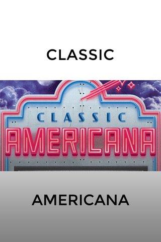CLASSIC AMERICANA