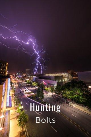 Hunting Bolts
