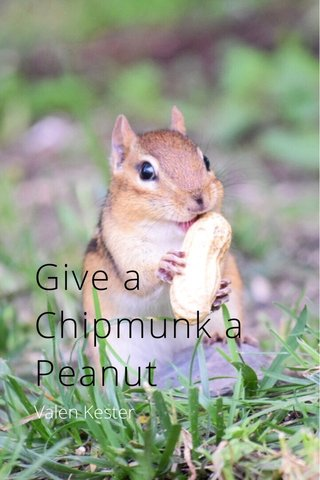 Give a Chipmunk a Peanut Valen Kester