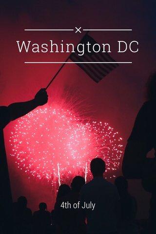 Washington DC 4th of July