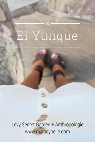 El Yunque Levy Secret Garden + Anthropologie www.maladybelle.com