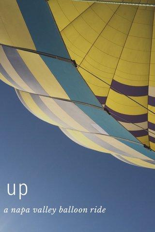 up a napa valley balloon ride