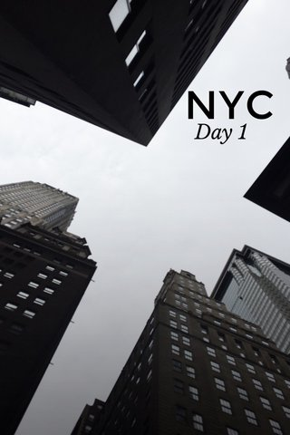 NYC Day 1