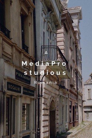 MediaPro studious Romania