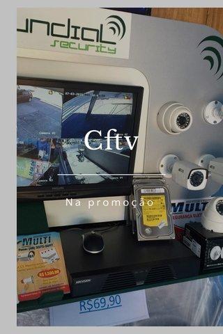 Cftv Na promoção