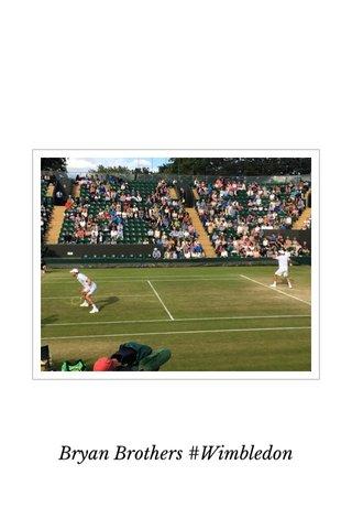 Bryan Brothers #Wimbledon