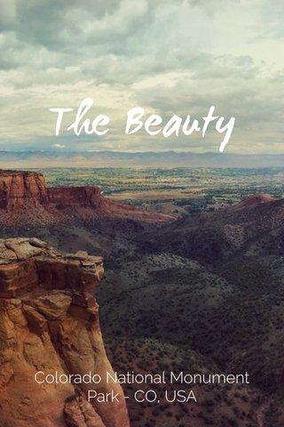 The Beauty Colorado National Monument Park - CO, USA