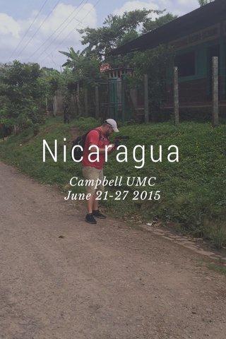 Nicaragua Campbell UMC June 21-27 2015