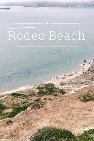 Rodeo Beach #California
