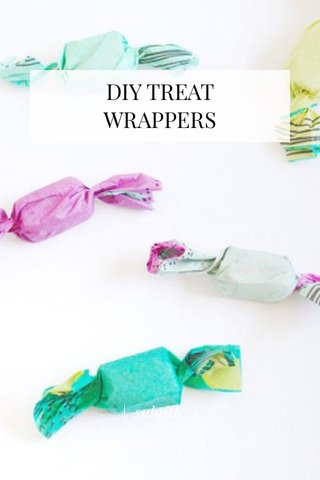DIY TREAT WRAPPERS | subtitle |
