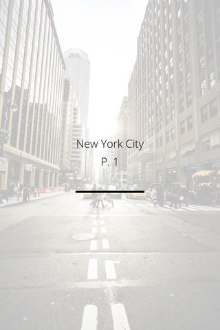 New York City P. 1
