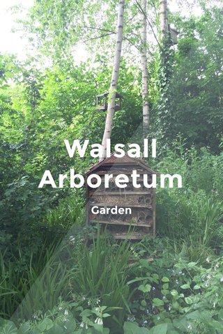Walsall Arboretum Garden