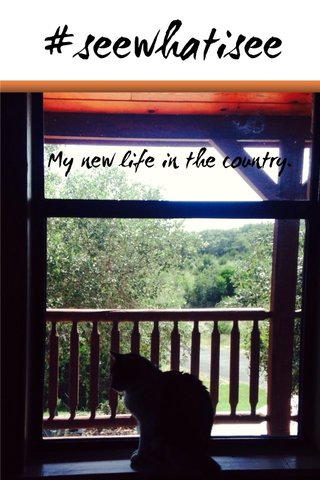 #seewhatisee My new life in the country.