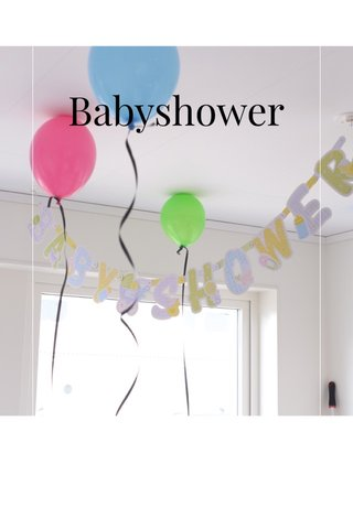 Babyshower | subtitle |